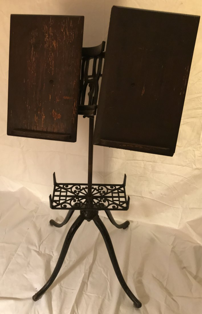 Late 19th/Early 20th C Dictionary/Book Stand