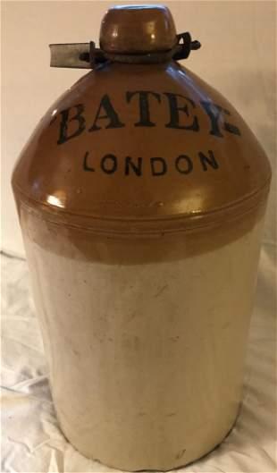 English Light Brown Stoneware Jug