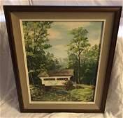 Landscape Oil on Canvas - Dreisback