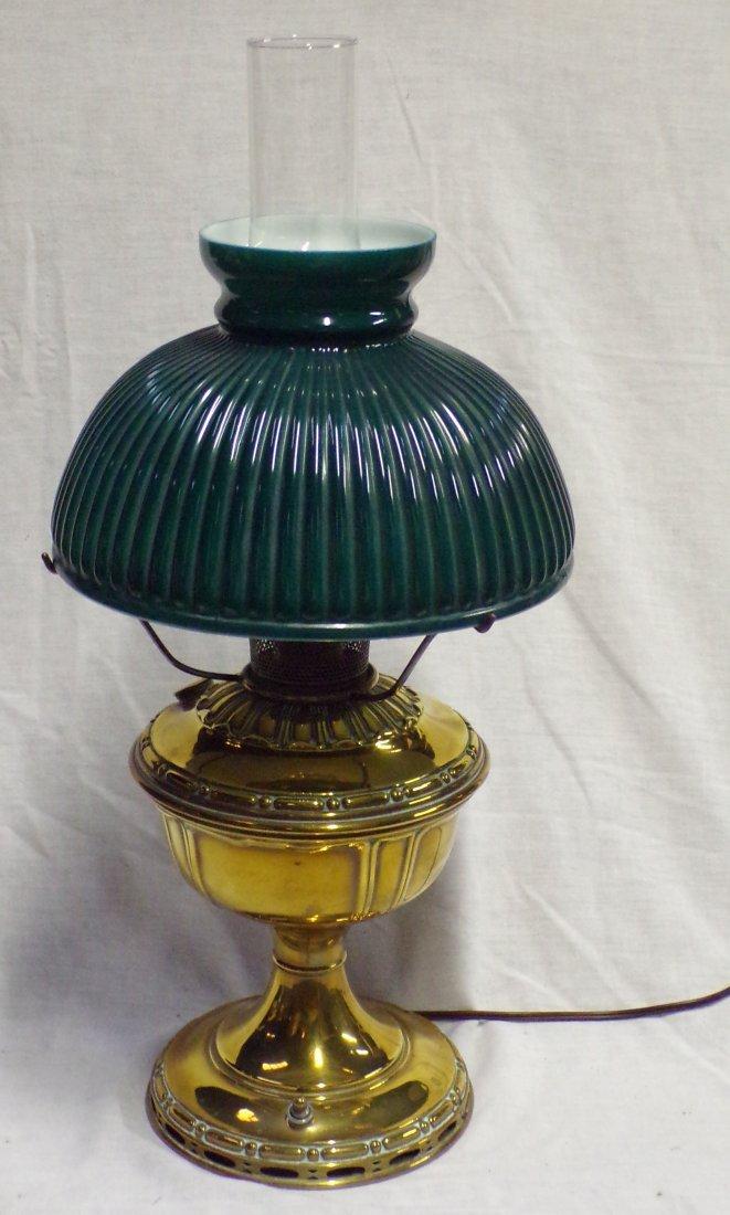 Brass Oil Lamp by Aladdin