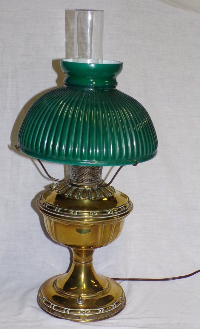 Brass Oil Lamp by Aladdin - 2