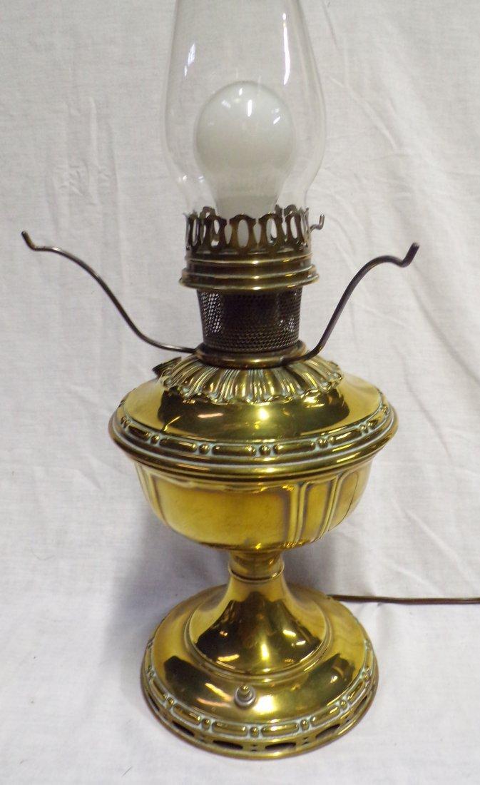 Brass Oil Lamp by Aladdin - 4