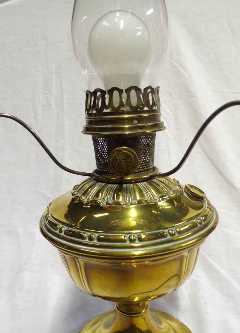 Brass Oil Lamp by Aladdin - 5