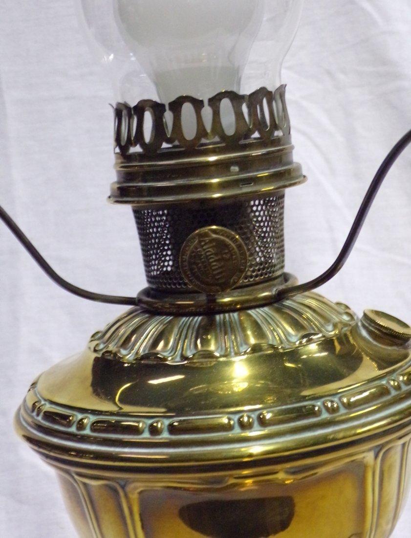 Brass Oil Lamp by Aladdin - 6