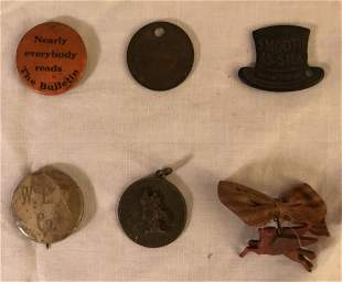 Grouping of 6 Collectible Pieces