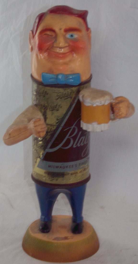 Blatz Beer Back Bar Statue - 2
