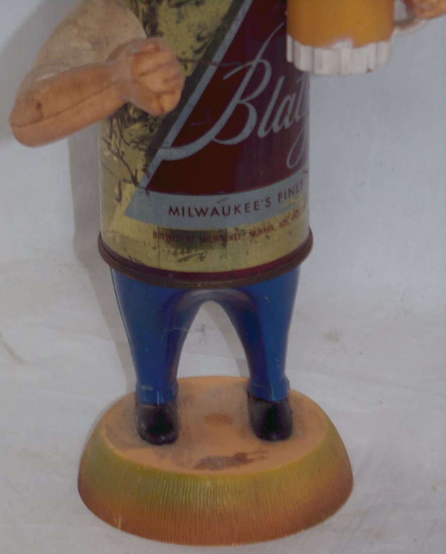 Blatz Beer Back Bar Statue - 4