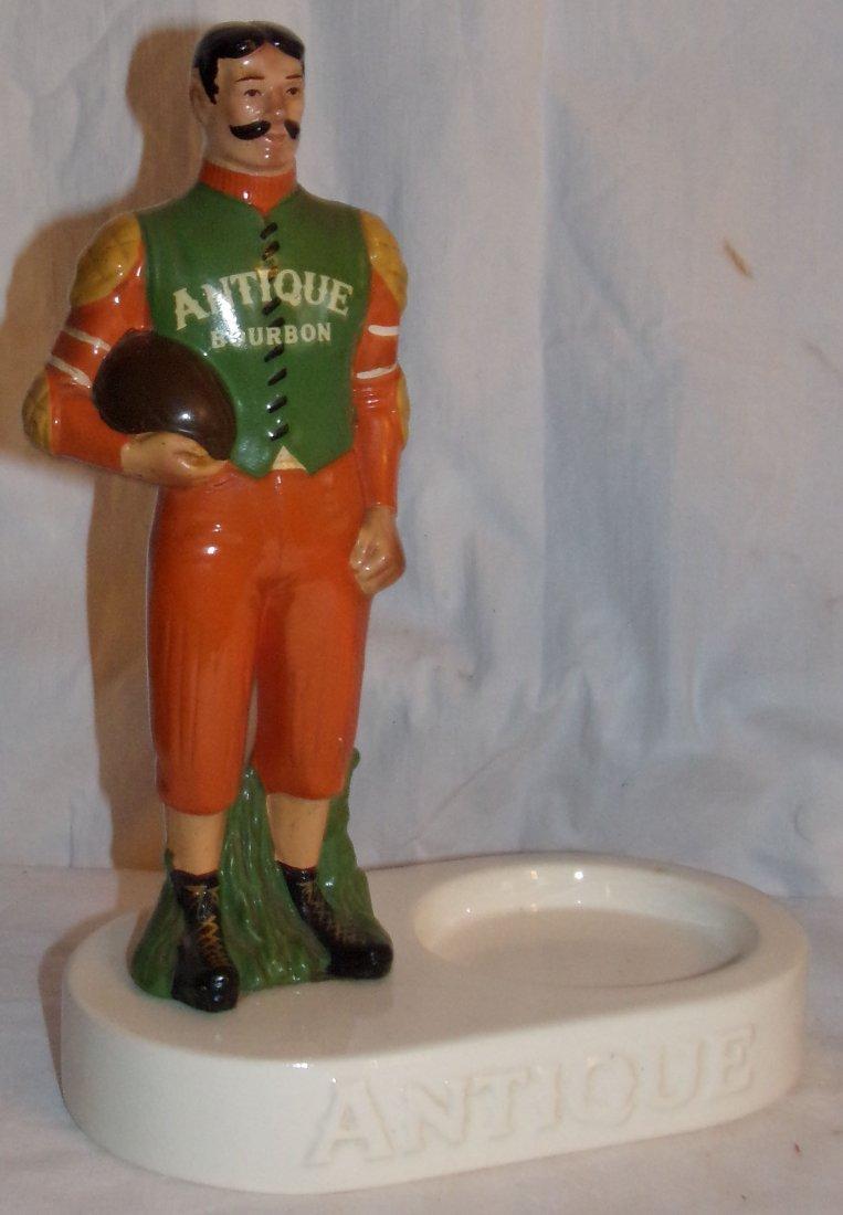 (2) Ceramic Back Bar Statues - 2