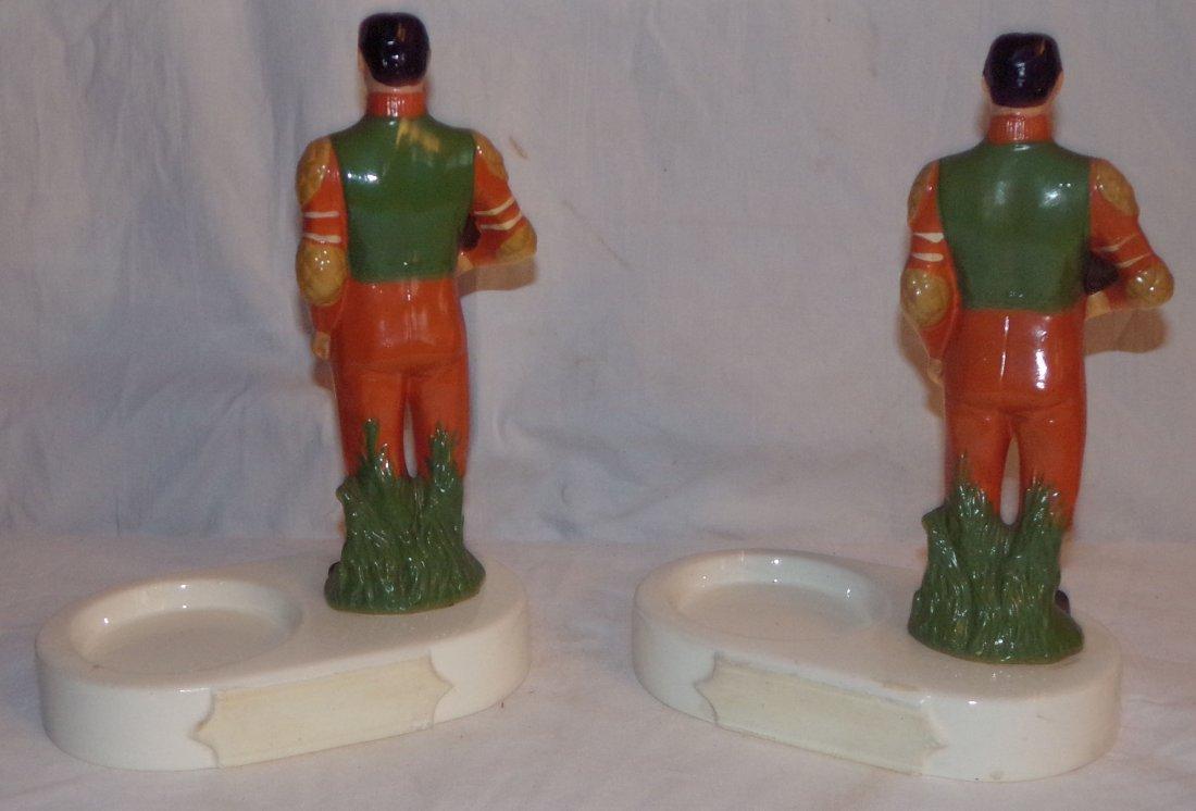 (2) Ceramic Back Bar Statues - 4