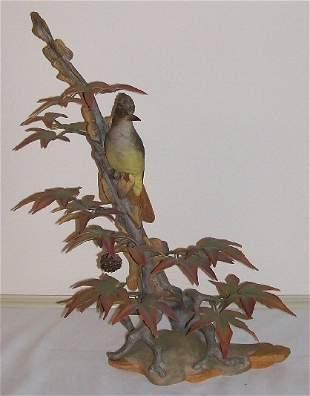 10: Boehm Porcelain - Crested Flycatcher #488