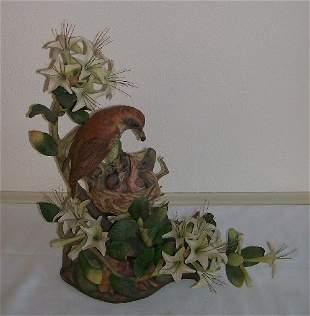 13: Boehm Porcelain -Woodthrush Female #485