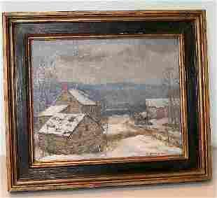 19: Kenneth Nunamaker - Oil Painting - Homestead