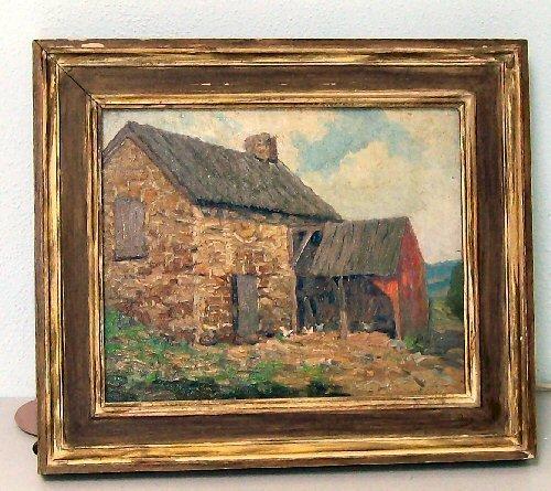 20: Kenneth Nunamaker -Oil Painting - Field Stone