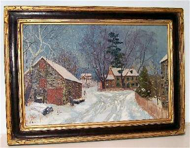 22: Alfred Nunamaker - Oil Painting - Parry Mansion