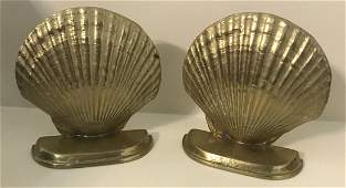 Pair of Brass Bookends