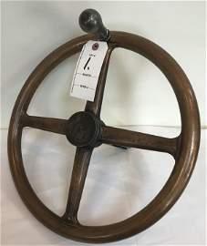 Brass Control Wheel