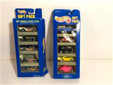 two packs of hot wheels