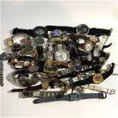 Huge Lot Of Assorted Watches Good Qually