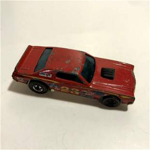 Vintage Hot Wheels Redline Diecast Toy Car 1974 Red