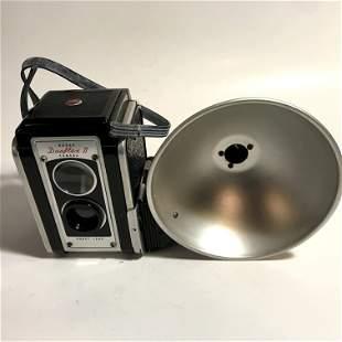 Vintage Duplex 2 Kodak Camera with flash