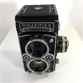 Rolleiflex 2.8 Heidosmat top lens Planar 75mm F3.5 TLR