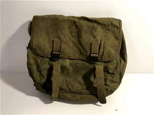 WW2 US Army M1936 M36 Musette Field Bag Backpack