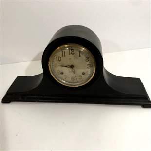 Working New Haven Mantle Clock Chime w/ Pendulum & Key