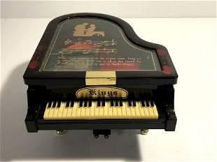 Kings Grand Piano Jewelry/Music Box Not working