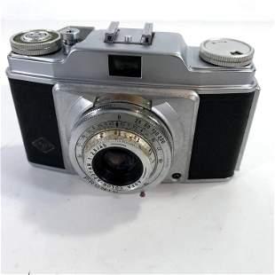 Agfa Silette Pronto 35mm Film Camera W/ Color-Apotar