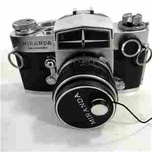 Miranda Auto Sensorex w/50/1.8 lens, cap, beautiful,