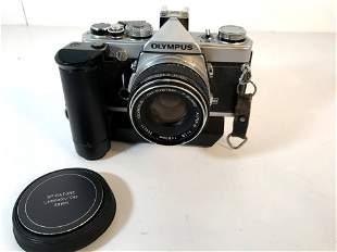 Olympus OM-1 Film Camera w/ F.Zuiko Auto-S 50mm F/1.8