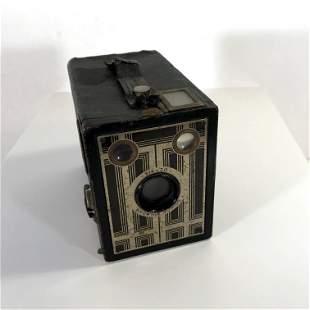 Antique 1930s Kodak Art Deco Brownie Jr. Six-20 Camera
