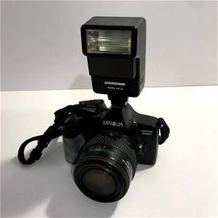 Minolta Maxxum 3000i Film Camera with 35mm Lens Tokina