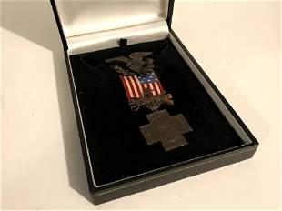 Spanish American War Veterans Medal Philippine Cuba
