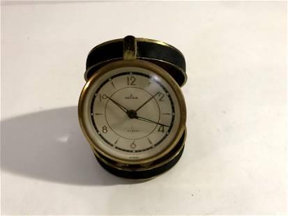 Vintage Rensie Watch Co. Folding Travel Alarm Clock.