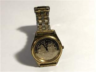 Vintage Watch Mens Iron Workers