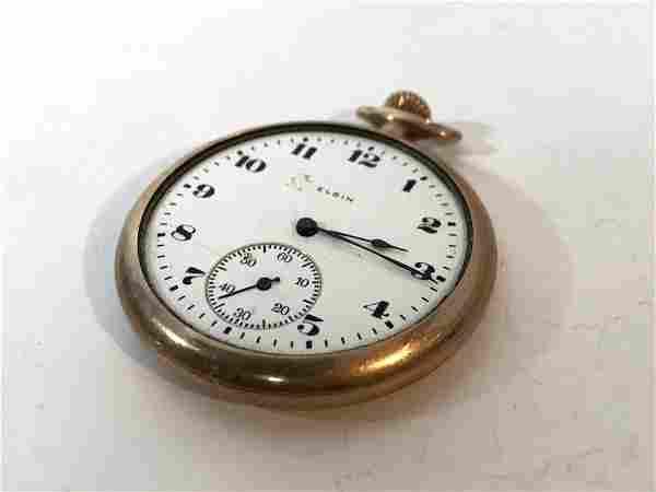 Vintage Elgin Gold Filled Pocket Watch