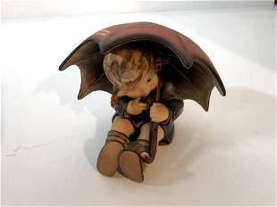 "Hummel 152/0 B ""Umbrella Girl"" TMK-5 Figurine 1957 By"