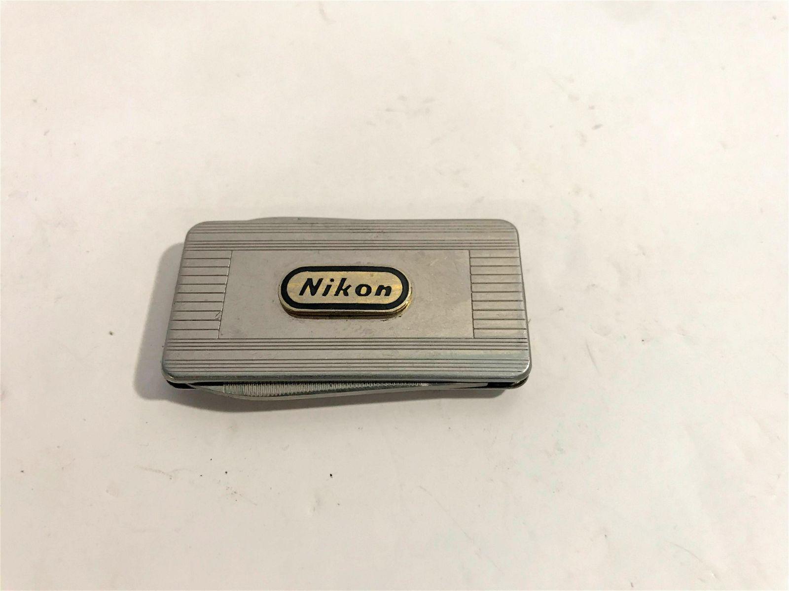 Vintage Nikon Folding Pocket Knife