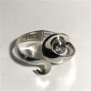 Vintage Signed Ming Sterling Silver Bracelet 60