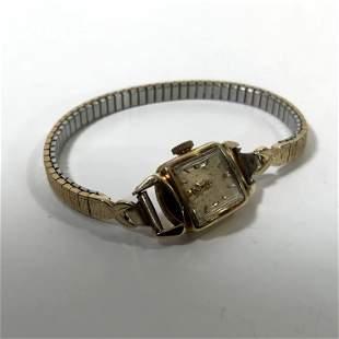 Vintage OMEGA Ladie's Women's 14K Gold Watch Manual