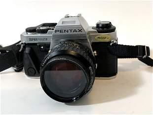 Pentax Super Program 35mm SLR Film Camera with F/1.4