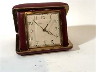 Phinney Walker Travel Alarm Clock Vintage Radium Face