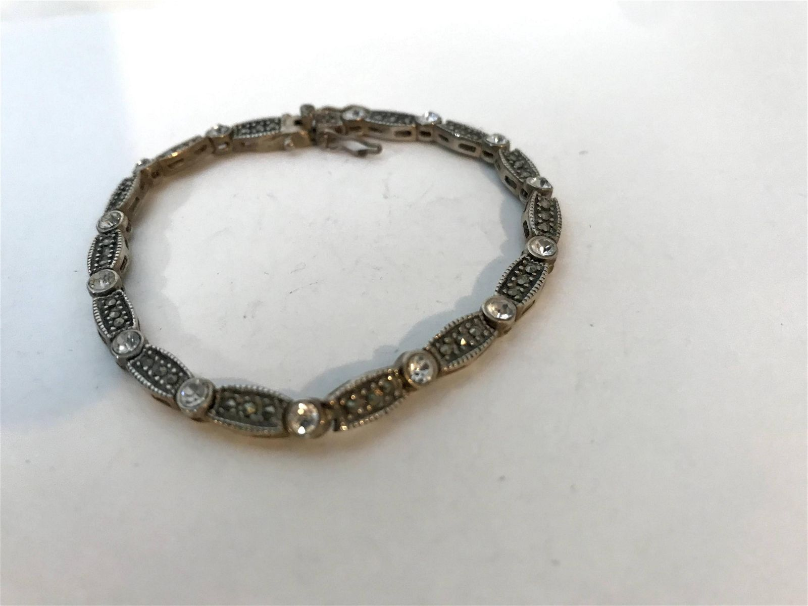 Antique Vintage Art Deco Style Sterling Silver