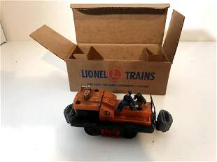 Lionel Gang Car 50 w/rare gray bumpers