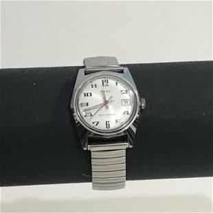 Vintage Timex Marlin Watch Hand-Wind Mechanical RUNS