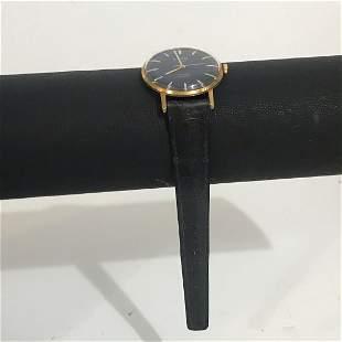 vintage Winding shura watch 23 jewels shockproof Gold