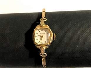 Vintage Ladies BENRUS 10k RGP Gold 17 Jewel Mechanical