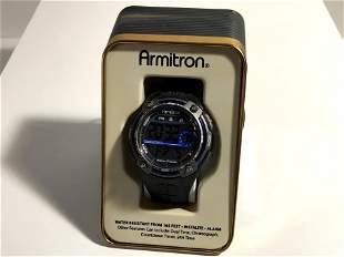 Mens Full Function Armitron Alarm Chronograph Sport