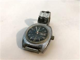 Clinton 17j Automatic Men's Watch Day Date World Time